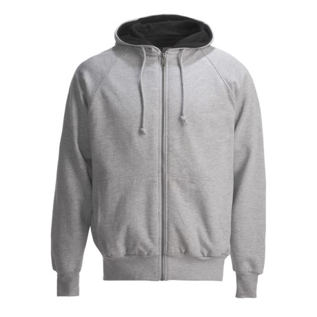 Canyon Guide Outfitters Hoodie Sweatshirt - Thermal-Lined (For Men) in Heather Grey