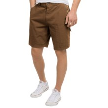 Canyon Guide Outfitters Kayak Cotton Canvas Shorts (For Men) in Tobacco - Closeouts