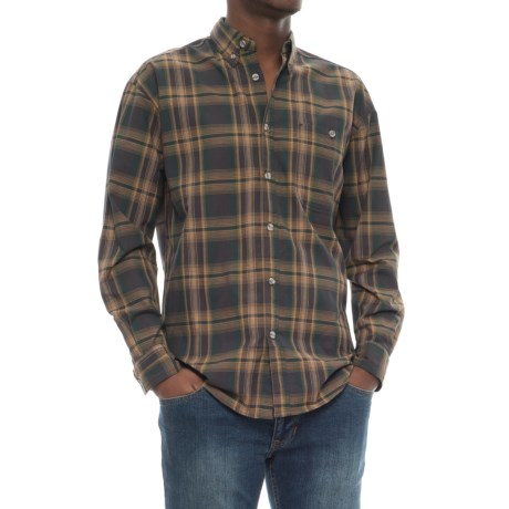 Canyon Guide Outfitters Yardley Plaid Shirt - Long Sleeve (For Men) in Green/Yellow