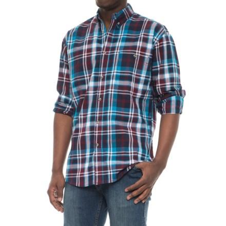 2e0cbf3fbed0ed Canyon Guide Outfitters Yardley Plaid Shirt - Long Sleeve (For Men) in  Turquoise