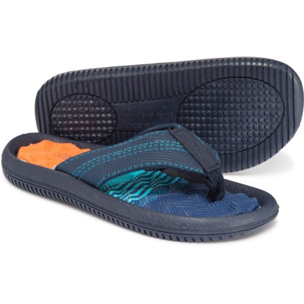 3d49bf6aa0b8 Capelli Ombre Flip-Flops (For Boys) in Navy Combo