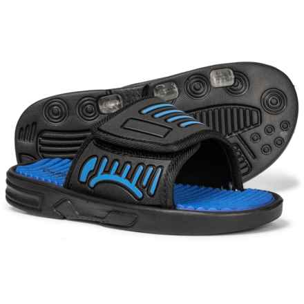 Capelli Slide Sandals (For Boys) in Blue Combo