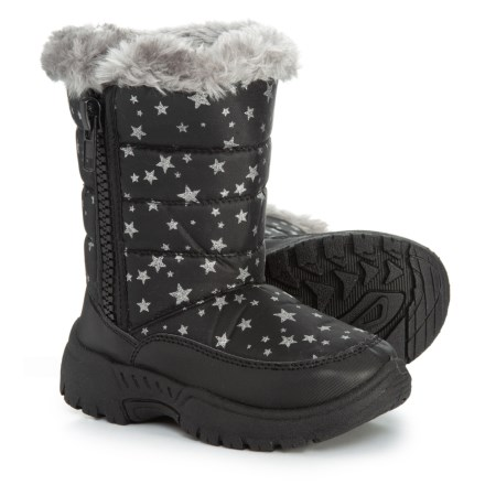 d1d4fdd3fa Capelli Star Print Winter Boots (For Toddler Girls) in Black Combo -  Closeouts