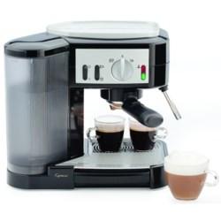 Capresso Cafe Pump Espresso Machine in Black/Stainless