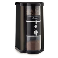 Capresso Disk Burr Coffee Grinder in Black