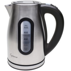Capresso H20 Pro Water Kettle in Stainless/Black