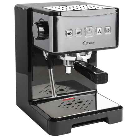 Capresso Ultima Pro Espresso and Cappuccino Maker in Stainless Steel - 2nds