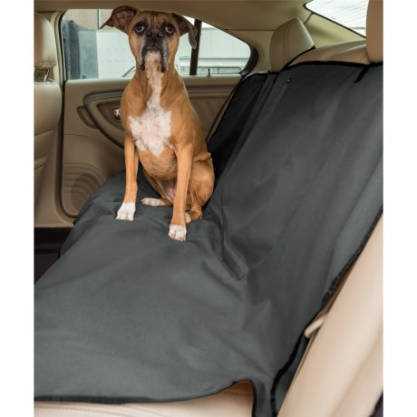 Car and Driver Bench Seat Cover - Waterproof in Charcoal