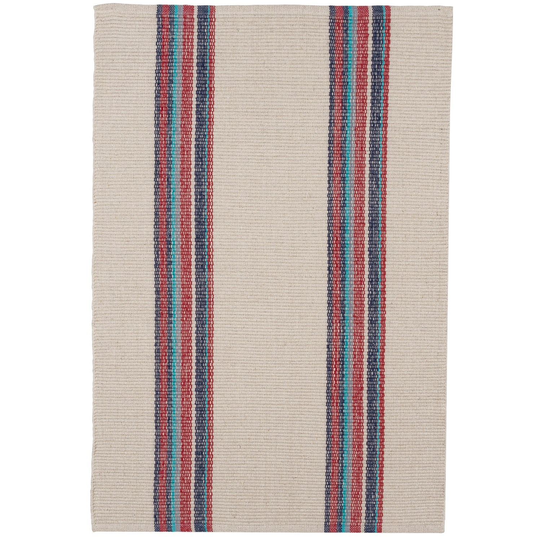 Caravan Striped Cotton Dhurrie Kitchen Rug 2x3 Save 58
