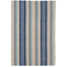 Caravan Striped Cotton Dhurrie Kitchen Rug - 2x3' in Isla - Closeouts