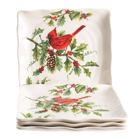Image of Cardinal Dinner Plates - 4-Pack, 10.75x10.75?