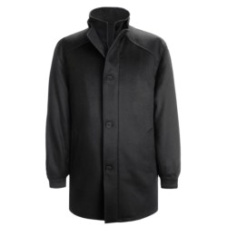 Cardinal of Canada Carter Coat - Wool-Cashmere (For Men) in Black