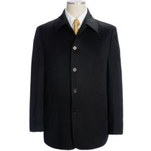 Cardinal of Canada Cashmere Coat (For Men) in Black - Closeouts