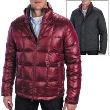 Cardinal of Canada Reversible Bomber Jacket - Duck Down (For Men) in Bricking Red - Closeouts