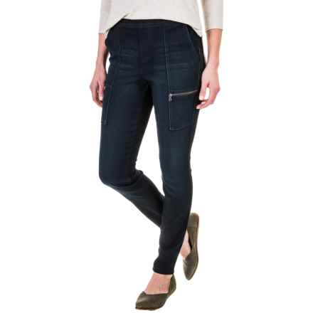Cargo Pocket Jeggings (For Women) in Indigo - 2nds
