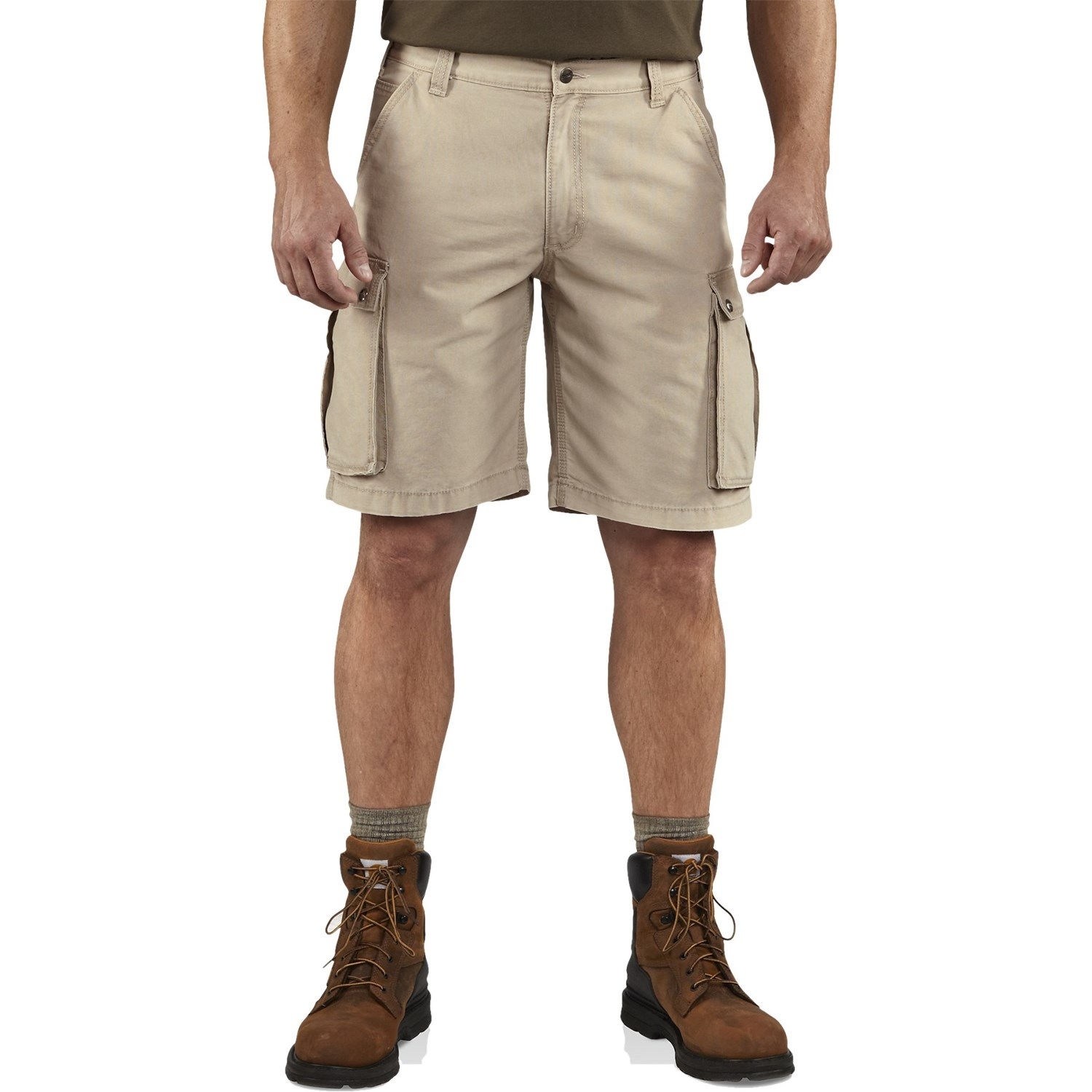 8a9c9d5f8d Carhartt 100277 Rugged Cargo Shorts - Factory Seconds (For Men) in Tan ...