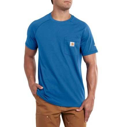 74a4167751 Carhartt 100410 Force Cotton Delmont T-Shirt - Short Sleeve, Factory  Seconds (For