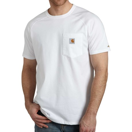 74a43106 Carhartt 100410 Force Cotton Delmont T-Shirt - Short Sleeve, Factory  Seconds (For