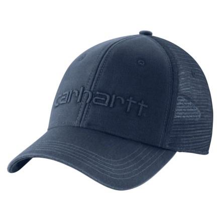 8540227f108c1 Carhartt 101195 Dunmore Baseball Cap (For Men) in Dark Blue - Closeouts