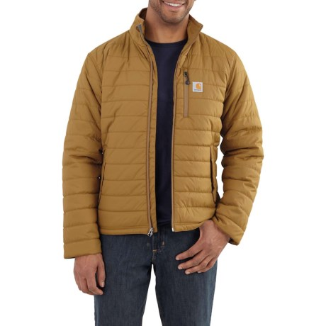 4e82b004857 Carhartt 102208 Gilliam Jacket - Insulated (For Big and Tall Men) in  Peppercorn