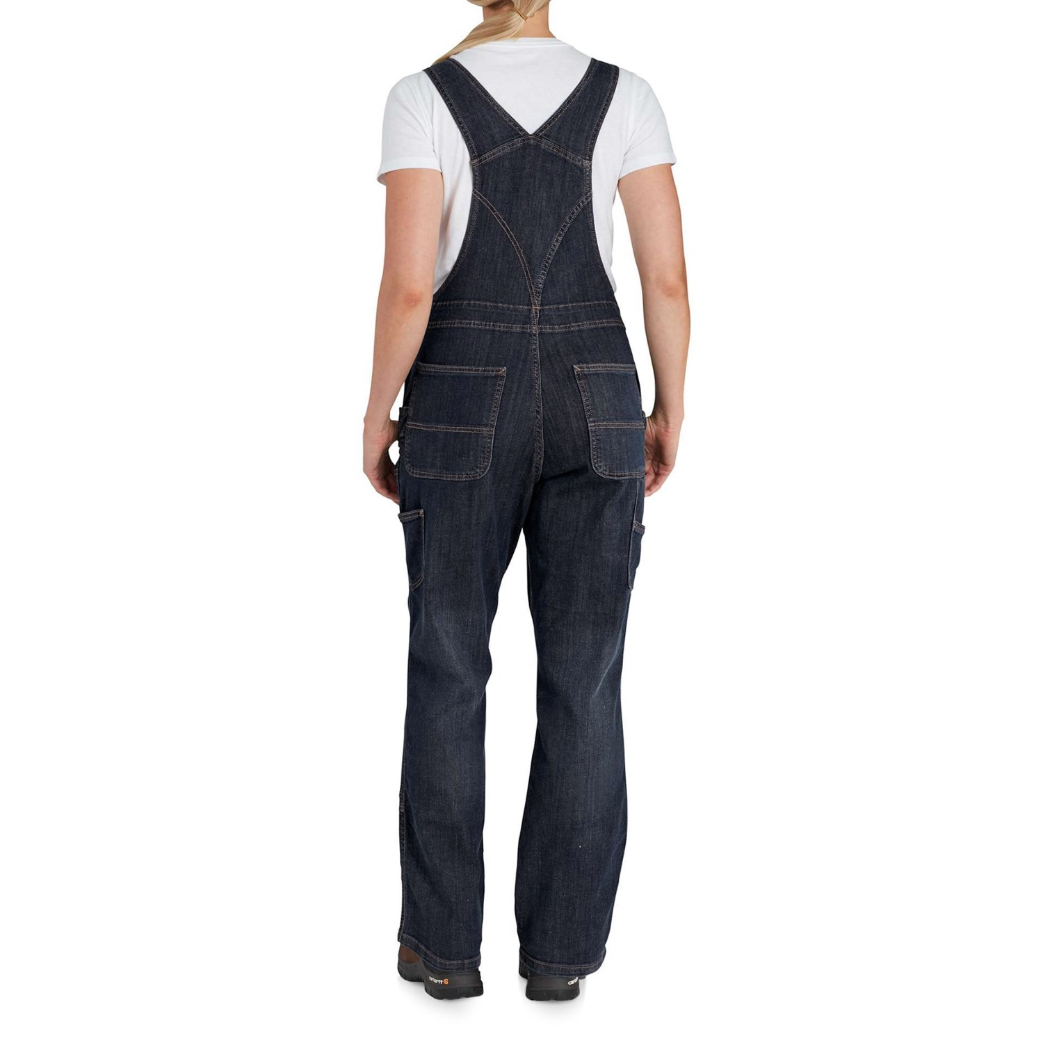fcfa7575488 Carhartt 102443 Brewster Double-Front Bib Overalls - Unlined (For Women)