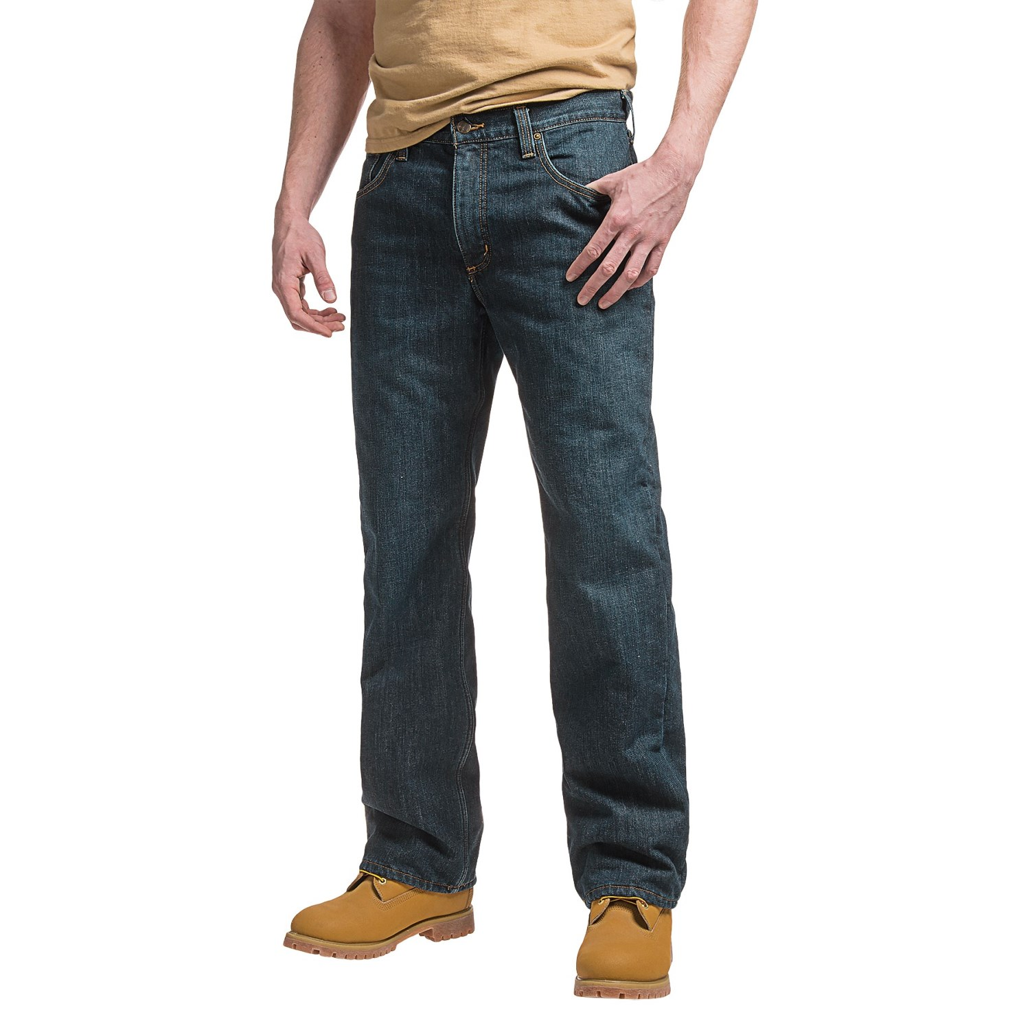49a552e1c671 Carhartt 102803 Holter Fleece-Lined Jeans - Relaxed Fit, Factory Seconds  (For Men)