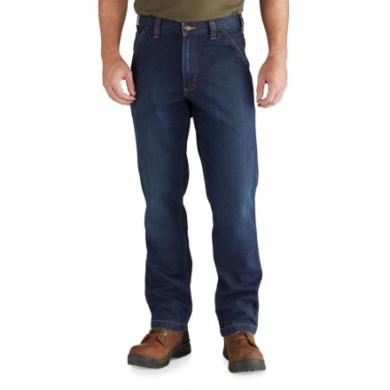 94d2cde57a7c Carhartt 102808 Rugged Flex® Dungaree Jeans - Relaxed Fit, Factory Seconds  (For Men