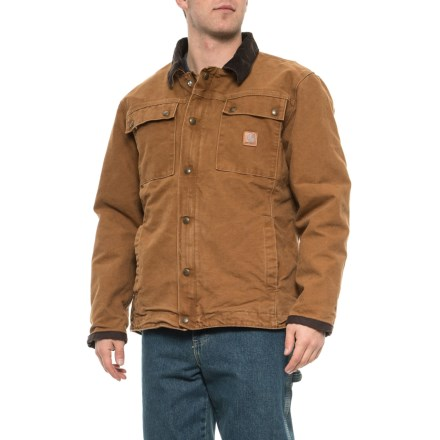 1038b86e7a Carhartt 103194 Tractor Jacket - Insulated, Factory 2nds (For Men) in  Carhartt Brown