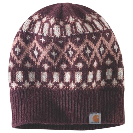 9a4c2d2ffacf9e Carhartt 103213 Springvale Knit Watch Hat (For Women) in Deep Wine -  Closeouts