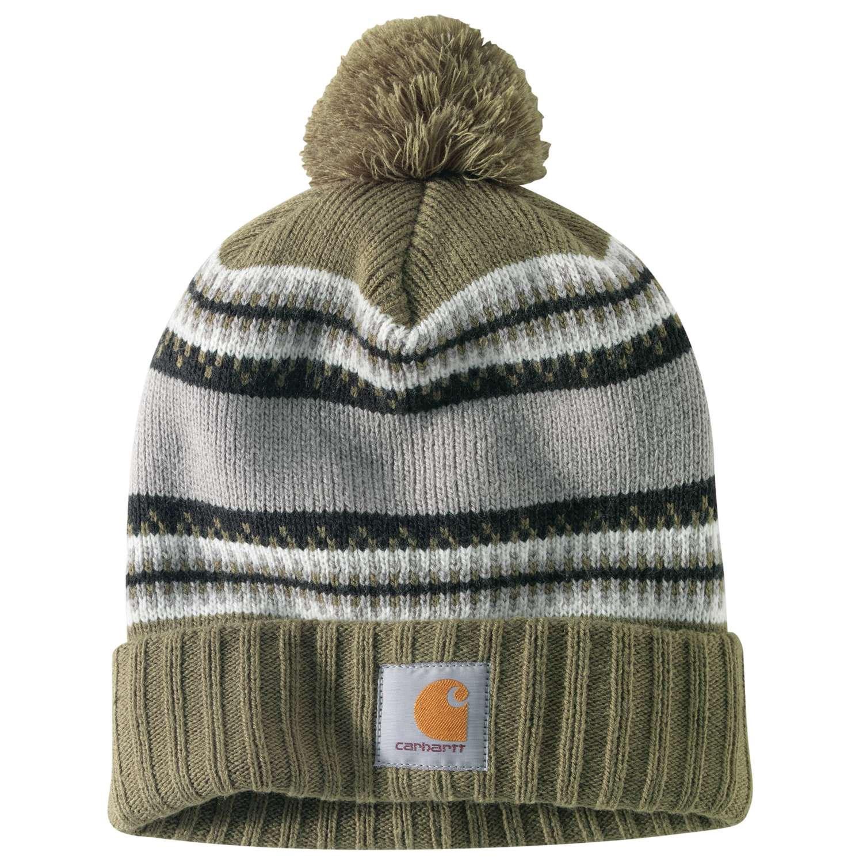 a551c6f3a Carhartt 103258 Rexburg Knit Pompom Hat (For Men)