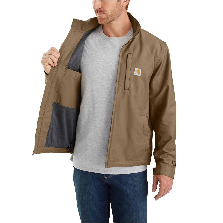 Carhartt Mens Quick Duck Cryder Foreman Jacket Work Utility Outerwear