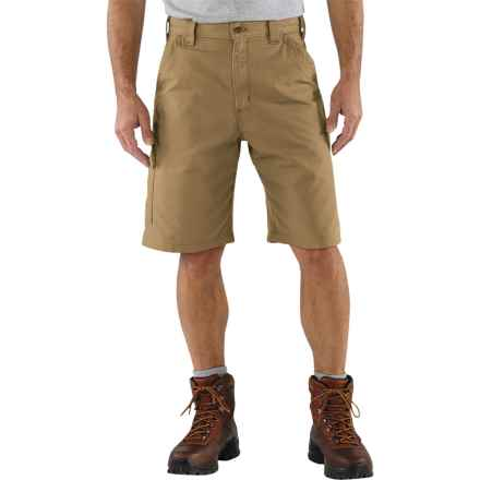 Carhartt 7.5 oz. Canvas Work Shorts - Factory Seconds (For Men) in Dark Khaki - 2nds