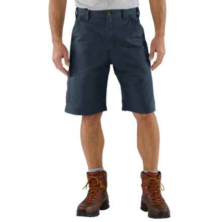 Carhartt 7.5 oz. Canvas Work Shorts - Factory Seconds (For Men) in Navy - 2nds