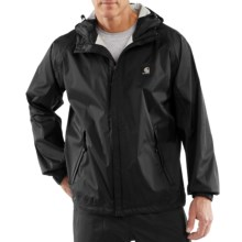 Carhartt Acadia Jacket - Waterproof (For Tall Men) in Black - 2nds