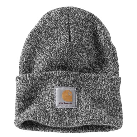 01288344f8e7fd Carhartt Acrylic Watch Beanie - Factory 2nd (For Men) in Black/White