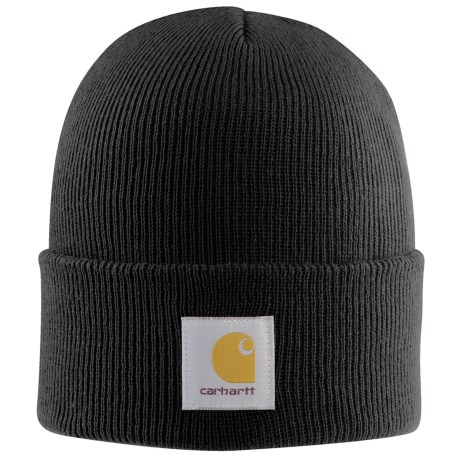 Carhartt Acrylic Watch Hat (For Men) in Black