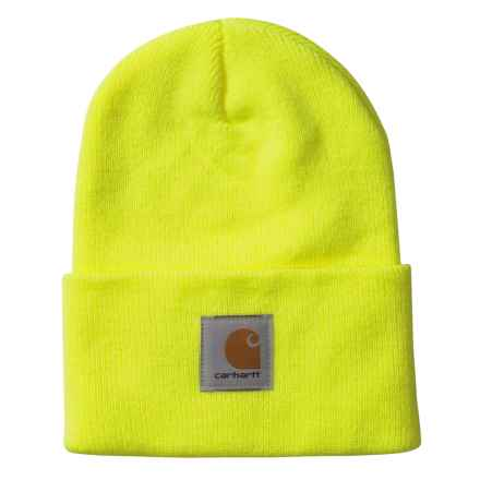 Carhartt Acrylic Watch Hat (For Men) in Bright Lime - 2nds
