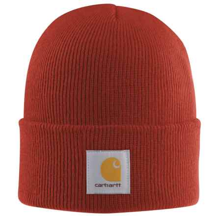 Carhartt Acrylic Watch Hat (For Men) in Chili - 2nds
