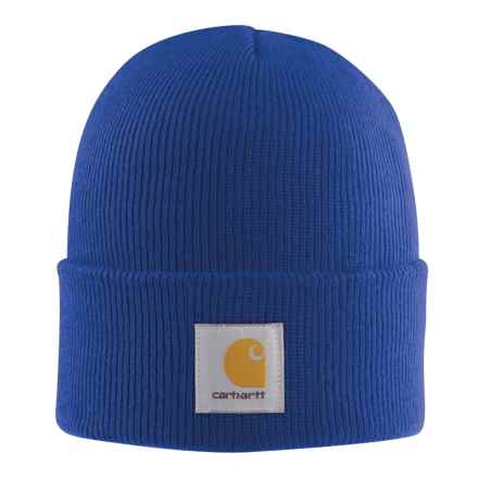 Carhartt Acrylic Watch Hat (For Men) in Cobalt Blue - 2nds