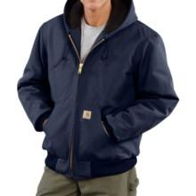 Carhartt Active Duck Jacket - Insulated (For Big Men) in Dark Navy - 2nds