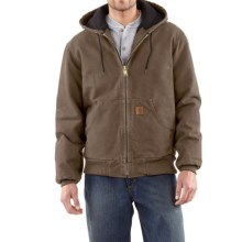 Carhartt Active Jacket - Quilt-Lined (For Tall Men) in Light Brown - 2nds