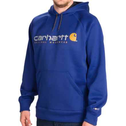Carhartt Alberton Graphic Hoodie (For Men) in Nautical Blue - 2nds