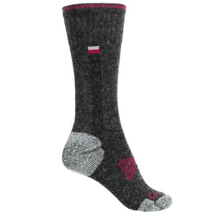 Carhartt All-Season Socks - Crew (For Women) in Charcoal Heather - Closeouts