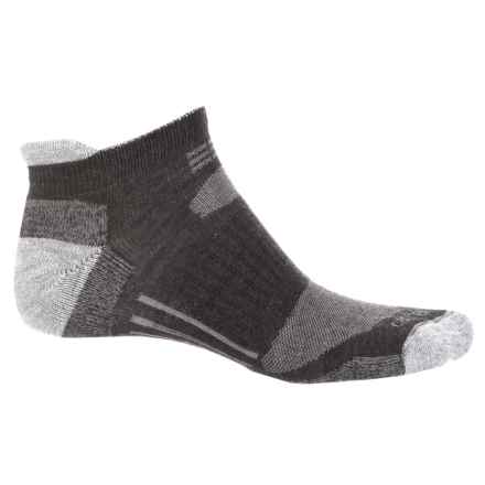 Carhartt All-Terrain Low-Cut Heel Tab Socks - Below the Ankle (For Men) in Charcoal Heather - Closeouts