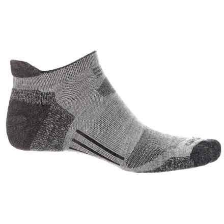Carhartt All-Terrain Low-Cut Heel Tab Socks - Below the Ankle (For Men) in Heather Grey - Closeouts
