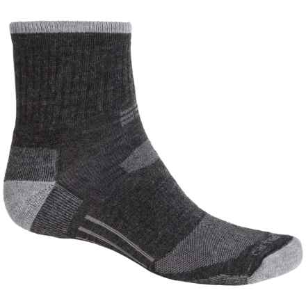 Carhartt All-Terrain Socks - Quarter Crew (For Men) in Charcoal Heather - Closeouts
