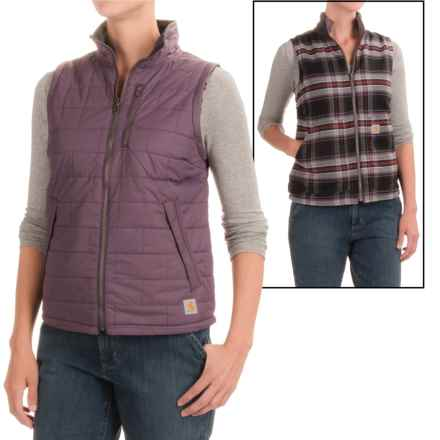 Carhartt Amoret Quilted Reversible Vest - Water Resistant, Factory Seconds (For Women) in Vintage Violet - 2nds