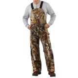 Carhartt AP Camo Bib Overalls - Insulated, Quilt-Lined (For Men)
