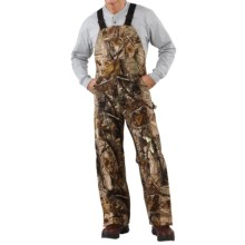 Carhartt AP Camo Bib Overalls - Insulated, Quilt-Lined (For Men) in Camo Ap - 2nds