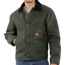 Carhartt Arctic Jacket - Sandstone (For Big Men) in Moss - 2nds